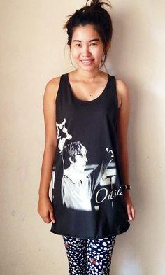 166a98001145a5 OASIS Tank Top Black shirt Singlet vest Sleeveless T-Shirt Retro Rock Punk  Music Unisex M onesize on Etsy