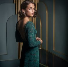 Alicia Vikander / Mark Seliger's Vanity Fair Oscar Party Portraits