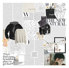 """""""♫♪ - we're in a ghost romance // so lets haunt the ballroom dance // come on lets take a chance."""" by mendhi-xo ❤ liked on Polyvore featuring Oris, Crate and Barrel, H&M, Chanel, Zara, Assouline Publishing, Clips and Pier 1 Imports"""