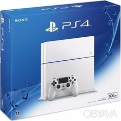 Новая Sony PlayStation 4 500 Gb (Glacier White) (CUH-1206A), Запоріжжя - дошка оголошень OBYAVA.ua