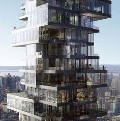 Architecture Beast: 56 Leonard Street – Unique Design Defining New York skyline