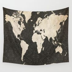 I kind of like the idea of a tapestry as wall decoration! This site has some really cool ones too! Check them out!