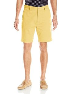 Nautica Men's Twill Flat Front Short,Corn,38 - http://www.darrenblogs.com/2017/01/nautica-mens-twill-flat-front-shortcorn38/