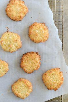 scandinavian coconut cookies with sea salt