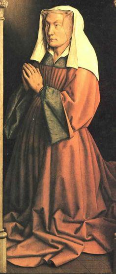part of Ghent Altarpiece, Belgium