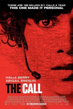 Official Poster for Halle Berry's The Call