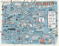 Favorite spots in Atlanta by Mike Lowery