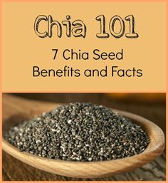 7 Chia Seed Benefits and Facts - A Superfood Primer