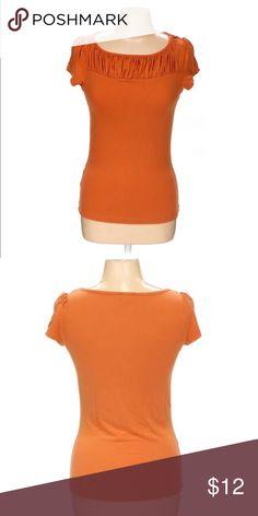 Orange Shirt By The Limited Size Medium Orange Shirt By The Limited Size Medium The Limited Tops