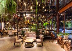 Restaurante invernadero
