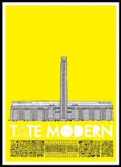 English courses in the centre of London. Learn English in London at competitive prices. Tate Museum London, Tate Modern Museum, Tate London, Tate Modern London, London 2016, London Summer, Museum Poster, Art Museum, English Day