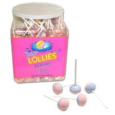 Smarties Double Lollies in Display (Pack of by Smarties -- Awesome products selected by Anna Churchill Jar, Learning, Churchill, Anna, Display, Awesome, Products, Billboard, Glass