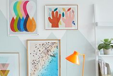 Based on the concept of colour psychology, Sophie Robinson explains the Spring personality and their interiors taste and style. Colour Psychology, Sophie Robinson, Home Trends, Fashion Room, Habitats, Personality, Gallery Wall, Concept, Spring