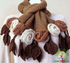 Cuellos tejidos a crochet hermosisisisisimos   ! - Ropa - Accesorios
