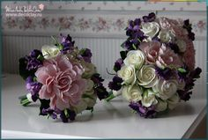 Flowers from CLAYCRAFT BY DECO soft Clay  www.decoclay.ru