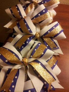 Blue gold and white for eastern york golden knights