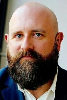 Bald Men Style, Bald With Beard, Great Beards, Bald Heads, Hair Loss, Sexy Men, Shaved Heads, Handsome, Style Inspiration