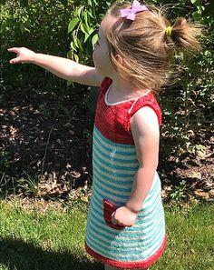 www.florandfauna.com Saugatuck Sunset Girl's A-line dress