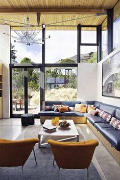 Stinson Beach House by WA Design |