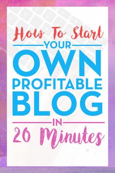 How To Create A Blog In 20 Minutes: Starting a blog was the best decision of my life. I am now comfortable making over $10k a month from the 4 blogs that I have. If you want to learn how you can also start a blog, check out this link. And please repin :) #blog #blogging #makemoney  http://www.dadshustle.com/create-profitable-blog/