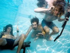 Nirvana underwater: Rarely-seen photos of Kurt Cobain & Co. capture a moment in rock history