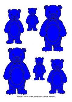 Teddy Bear Sorting - Blue