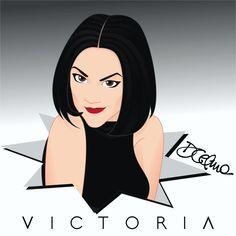 Happy Birthday Victoria Beckham!!! #VictoriaBeckham #Victoria #VictoriaAdams #PoshSpice #Posh #happybirthday #pop #icon #music #spicegirls #spice #illustration #drawing #art #vector #fanart #vectorart #girlpower https://www.facebook.com/diegocelmailustrador/