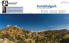 Smart Photography April 2013 issue carries my Kumbhalgarh article. Highlight is this 4-image 2/3rd double-spread stitched-panorama. Pages 1 & 2. For all 6 pages, please click http://on.fb.me/YWRjGS