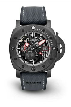 Panerai Submersible S Brabus Black Ops Edition PAM01240 Frontal