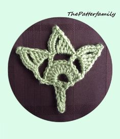 How to Crochet a Leaf Pattern #6 │by ThePatterfamily