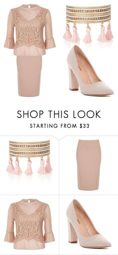 """""""Fashion Forward in Pink"""" by lahovis ❤ liked on Polyvore featuring Chloe + Isabel, River Island and Call it SPRING"""