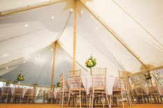 Traditional wooden pole sailcloth tent to hire for events and weddings in Kent and East Sussex. A great alternative to a marquee Tent Wedding, Wedding Events, Douglas Fir Wood, Image 360, Tent Hire, Vintage Banner, Marquee Hire, Wooden Poles, Sailing Outfit
