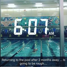 Earlier today: my first swim in over 2 months and the earliest I've EVER gotten to the pool.  I debunked some limiting stories I had been telling myself around that  stories that were supported by cold hard facts.  Then AFTER my swim I made it to the 7:30 am Sun Celebs yoga class at Laughing Lotus.  I'm still amazed that I pulled this off.  No matter what else did or did not happen today this happened.  I made this happen.  I got out of bed and to the pool. I got out of the pool in time to…