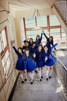 "Update: ""Idol School"" Girl Group Teams Up For Unit Photos Ahead Of Debut"