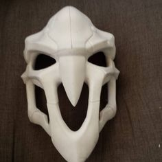 Finished printing and assembling the reaper mask...this is gonna need a lot of cleaning up #reaper #overwatch #cosplay #overwatchcosplay #blizzard #blizzard2016 #mask #gaming by pinion_props