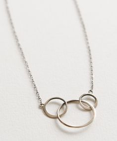 Sterling Circles Necklace - Jewelry for a cause - Noonday Collection - supporting vulnerable African women