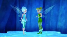 Tinkerbell and Periwinkle in The Secret Of The Wings
