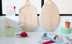 organically shaped cutting boards