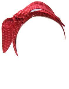 The Rosie Wrap, Rockabilly, Pin Up, Hair Accessory, Ready to Ship. $10.00, via Etsy.