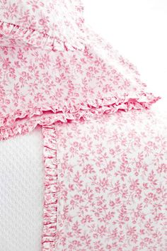 #PineConeHillOutlet Climbing Rose Pink Pillowcases (pair)