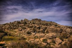 Torcal de Antequera, a nature reserve in Andalucia, Spain
