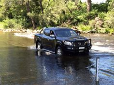 """I just can't believe the comfort of my new on the country roads and river crossings. So happy with it"" (c) Boyd Mclean Spare Parts, Nissan, Automobile, Country Roads, River, Vehicles, Happy, Fun, Car"