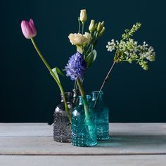 #blue#vases#flowers
