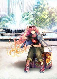 CHiCO with HoneyWorks Manhwa, Pink Hair Anime, Honey Works, Sakura Haruno, Anime Art Girl, Anime Girls, Vocaloid, Anime Couples, Manga Anime
