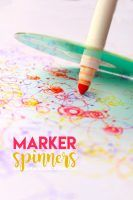 kids-craft-marker spinners.-Makes-fun-doodles-and-most-supplies-can-be-found-around-the-house
