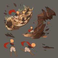 ArtStation - Cauldron - Terraformer, Guille García Fantasy Character Design, Character Design Inspiration, Character Concept, Character Art, Overwatch Hero Concepts, Comic Book Drawing, Game Concept Art, Magic Art, Action Poses
