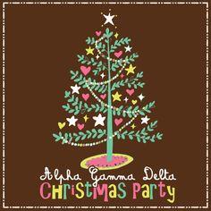 Alpha Gamma Delta Christmas