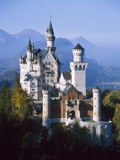 Neuschwanstein Castle, Fussen Bavaria, South Germany   Been here!