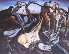 """Salvador Dali ~ """"Spider of the Evening"""", 1940"""