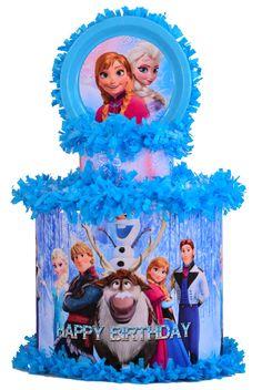 World of Pinatas - Frozen Personalized Pinata, $39.99 (http://www.worldofpinatas.com/frozen-personalized-pinata/)